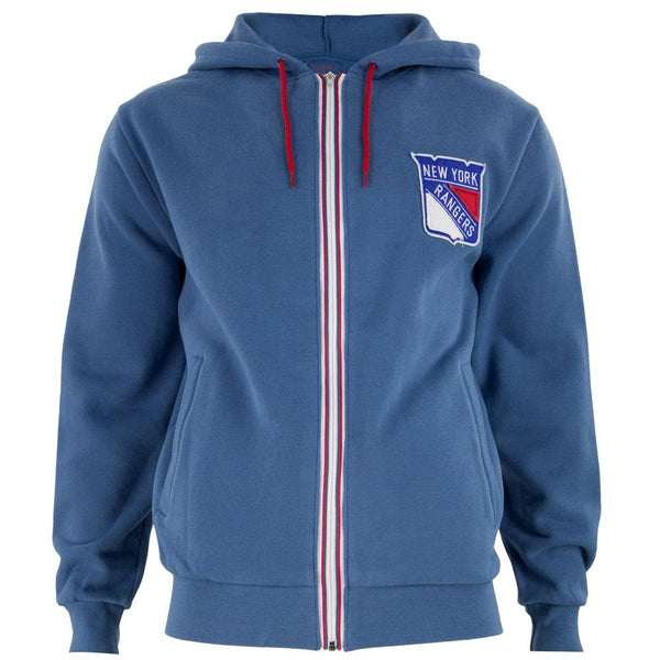 New York Rangers - Logo Ty Adult Zip Hoodie
