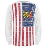 American Garsden Flag All Over Adult Long Sleeve T-Shirt