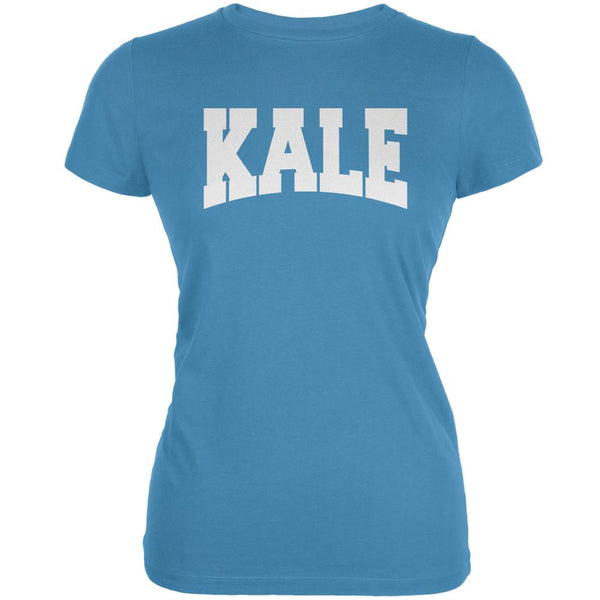 Kale Aqua Juniors Soft T-Shirt
