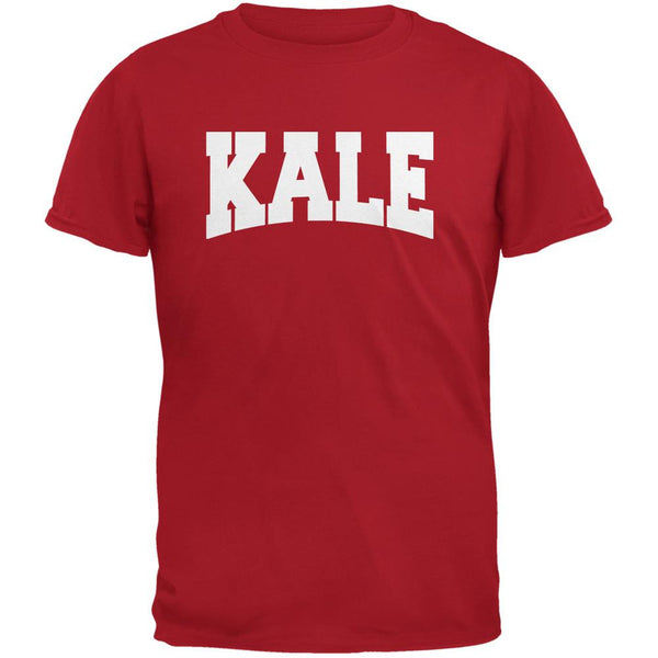 Kale Red Adult T-Shirt