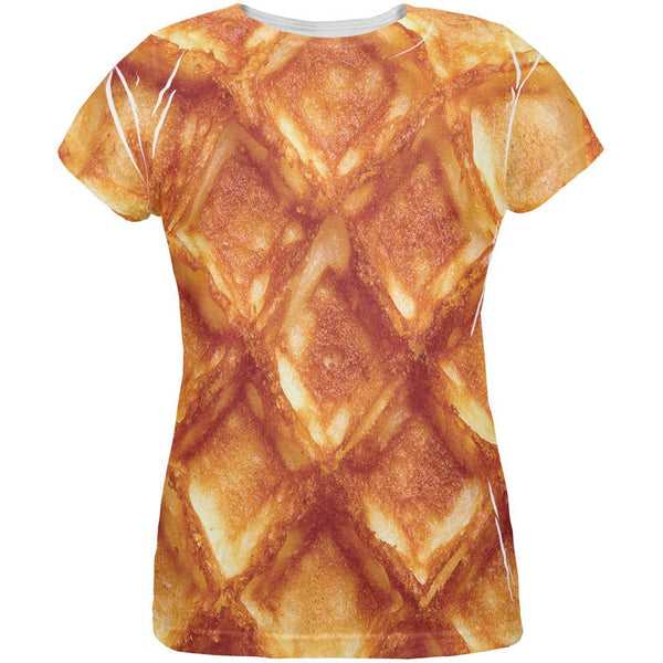 Waffle All Over Womens T-Shirt