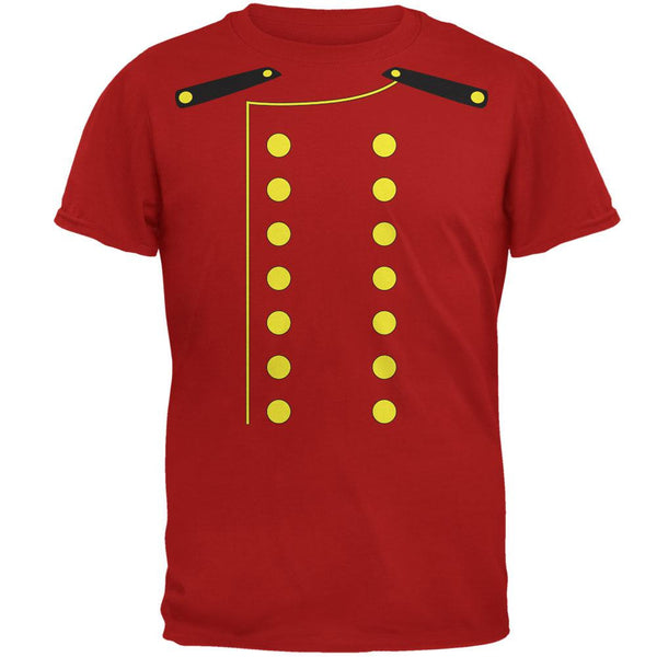 Halloween Hotel Bellhop Costume Red Adult T-Shirt