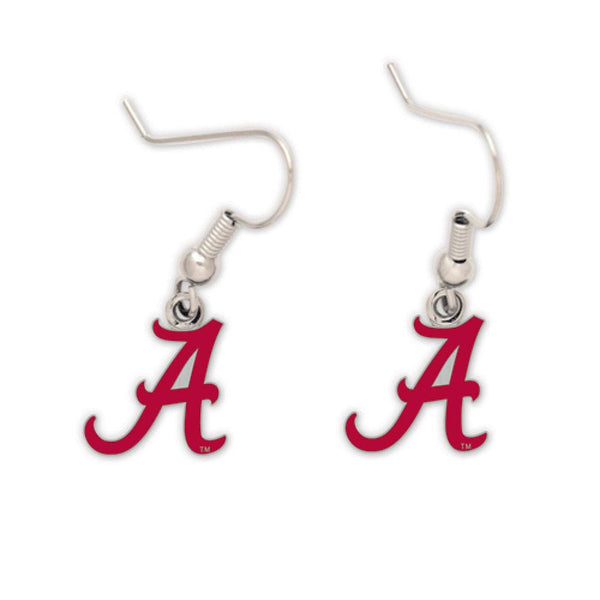 Alabama Crimson Tide - Logo Dangle Earrings