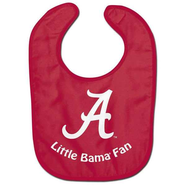 Alabama Crimson Tide - Little Fan All Pro Baby Bib