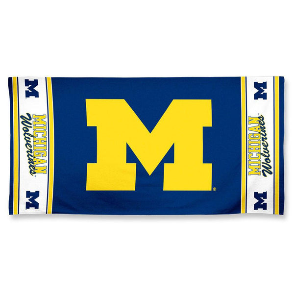 Michigan Wolverines - Logo 30x60 Fiber Beach Towel