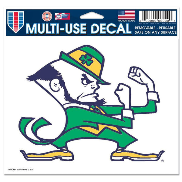 Notre Dame Fighting Irish - Logo 5x6 Multi-Use Decal
