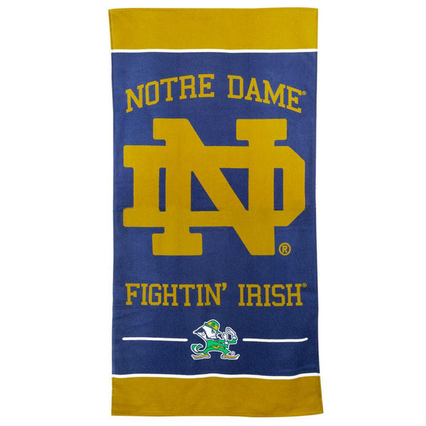 Notre Dame Fighting Irish - Logo 30x60 Fiber Beach Towel