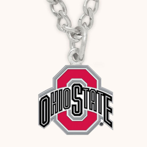 Ohio State Buckeyes - Logo Necklace