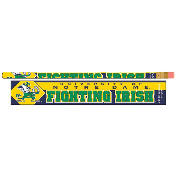Notre Dame Fighting Irish - Pencil 6 Pack