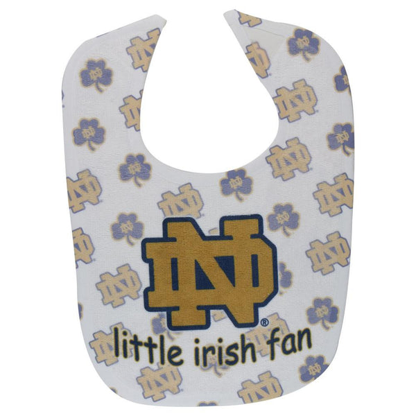 Notre Dame Fighting Irish - Little Fan All Pro Baby Bib