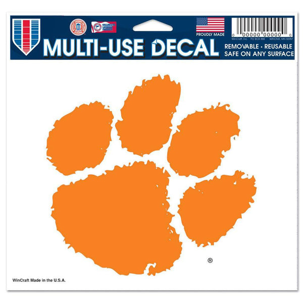 Clemson Tigers - Logo 5x6 Multi-Use Decal
