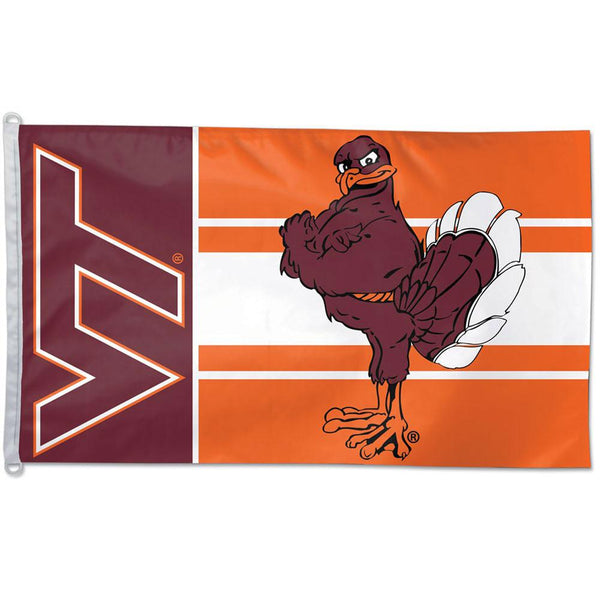 Virginia Tech Hokies - Logo 3x5 Flag