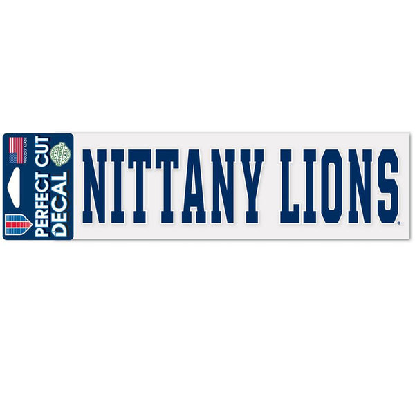 Penn State Nittany Lions - Nittany Lions 3x10 Perfect Cut Decal
