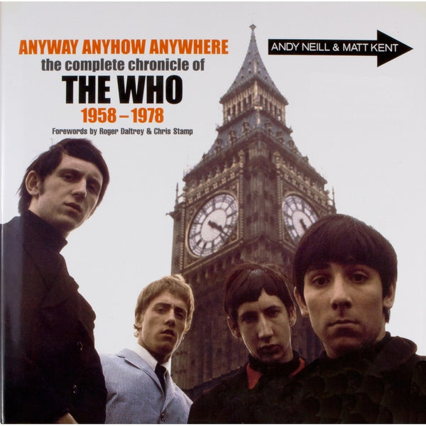 The Who - Anyway Anyhow Anywhere - Book