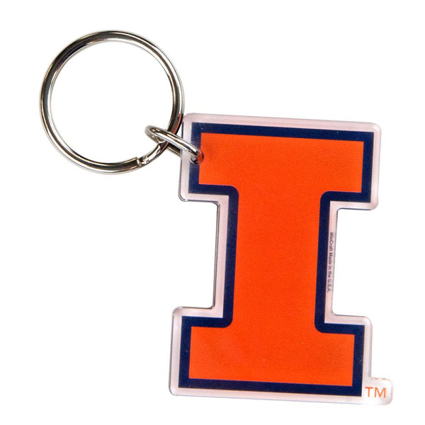 Illinois Fighting Illini - Logo Acrylic Keychain