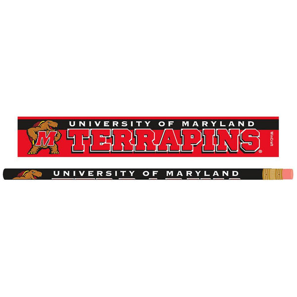 Maryland Terrapins - Pencil 6 Pack