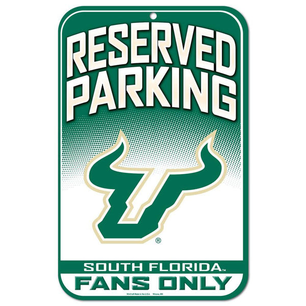 USF Bulls - Reserved Parking Plastic Sign