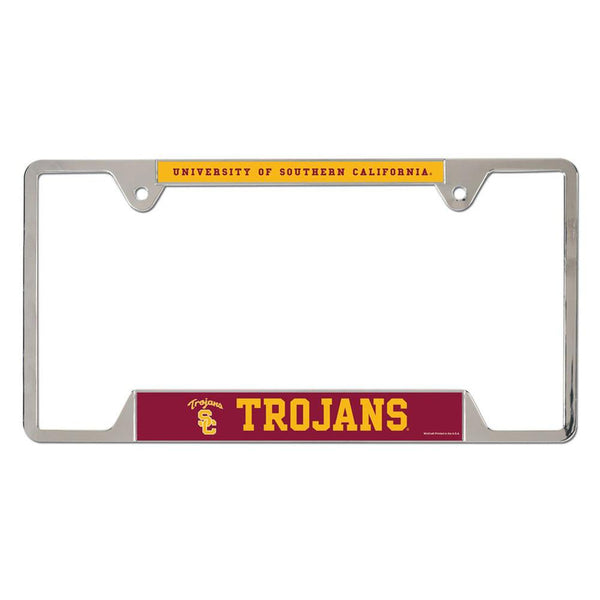 USC Trojans - University of Metal License Plate Frame