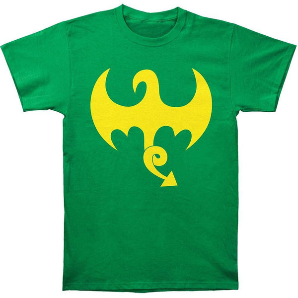 Iron Fist - Dragon Logo Soft Adult T-Shirt