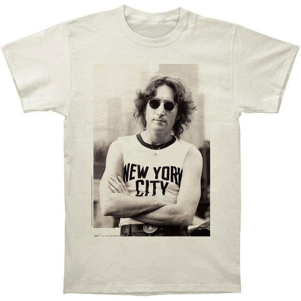 John Lennon - New York City Soft Adult T-Shirt