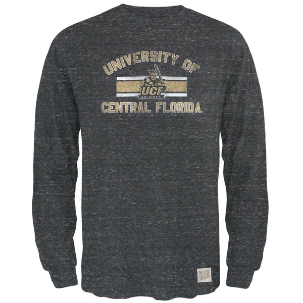 UCF Knights - Bar Logo Tri-Blend Adult Long Sleeve T-Shirt