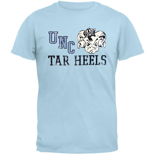 North Carolina Tar Heels - Grinning Rameses Vintage Adult Soft T-Shirt