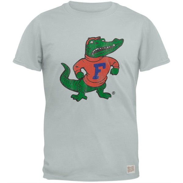 Florida Gators - Distressed Large Gator Vintage Adult Soft T-Shirt