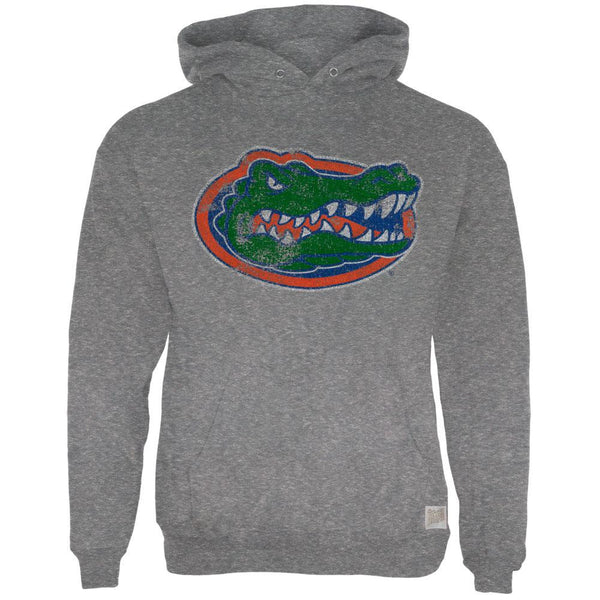 Florida Gators - Large Gator Head Tri-Blend Adult Pullover Hoodie