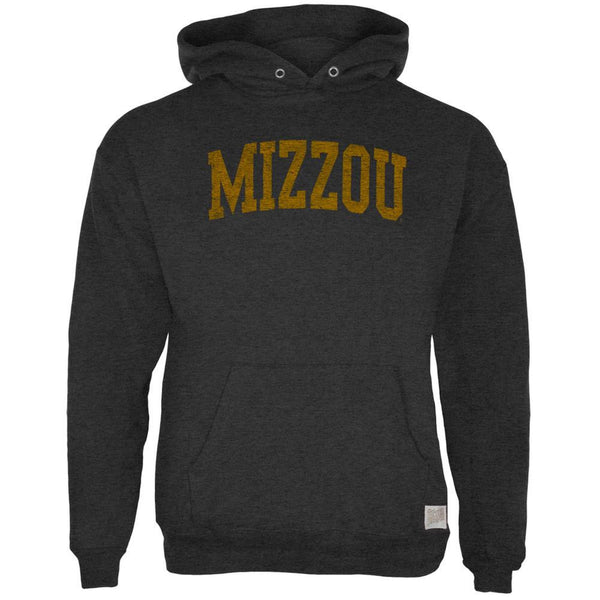 Missouri Tigers - Distressed Mizzou Tri-Blend Adult Pullover Hoodie