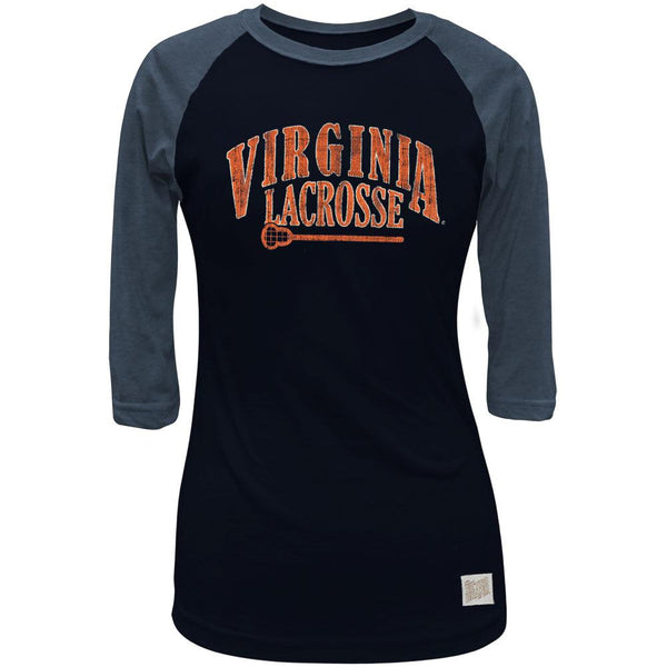 Virginia Cavaliers - Lacrosse Juniors 3/4 Sleeve Raglan