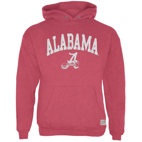 Alabama Crimson Tide - Name & Logo Tri-Blend Adult Pullover Hoodie