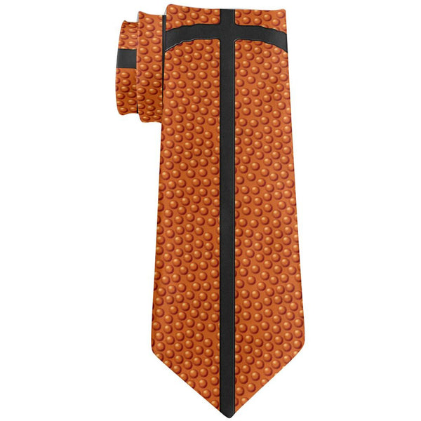 Basketball All Over Neck Tie