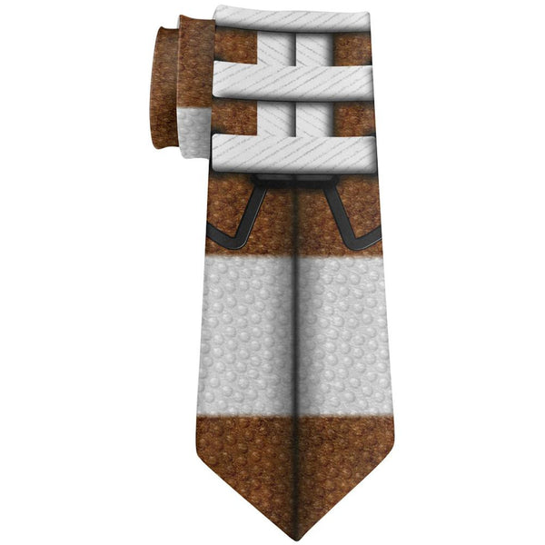 Football All Over Neck Tie