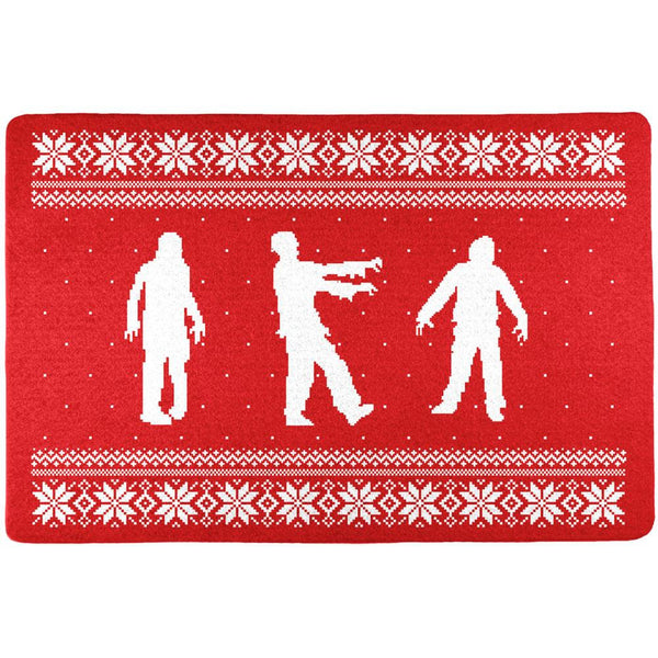 Zombie Ugly Christmas Sweater All Over Placemat