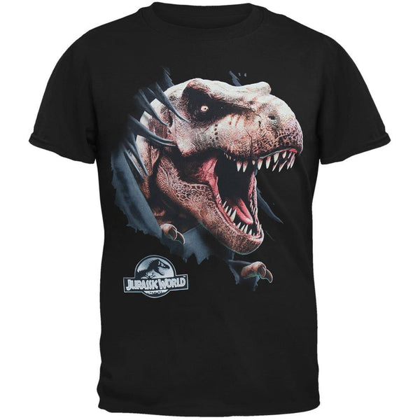 Jurassic World - Ripping Through Shirt Adult T-Shirt