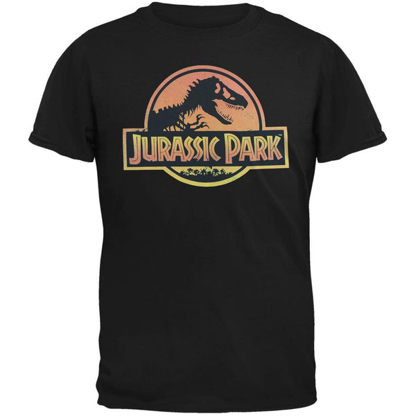 Jurassic Park - Distress Logo Adult T-Shirt