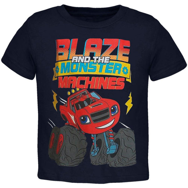 Blaze and the Monster Machines - Lightning Wheels Toddler T-Shirt
