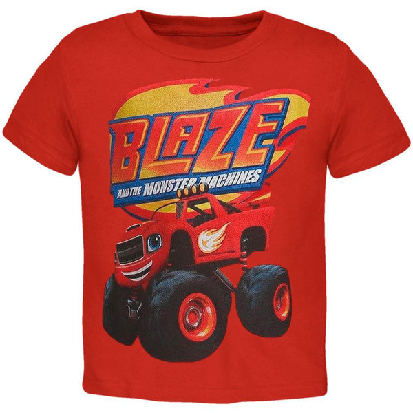 Blaze and the Monster Machines - Side View Toddler T-Shirt