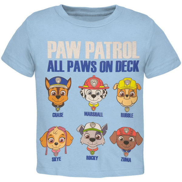 Paw Patrol - All Paws on Deck Toddler T-Shirt