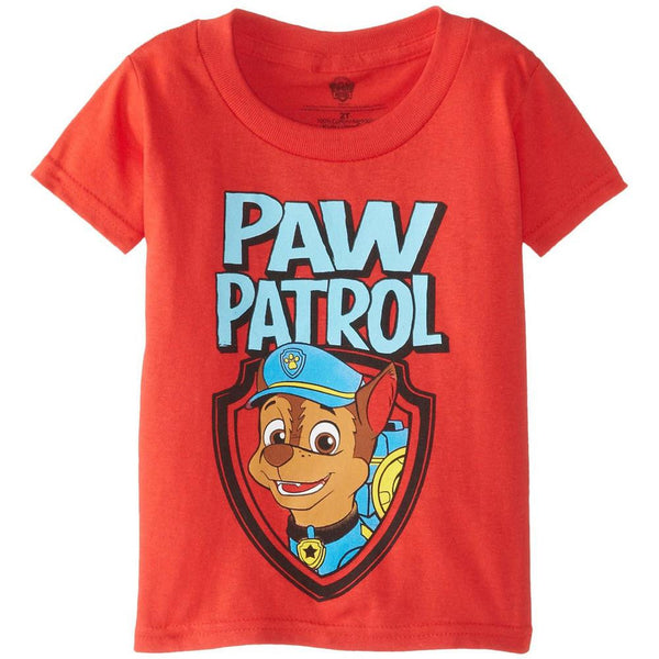 Paw Patrol - Distressed Chase in Logo Toddler T-Shirt