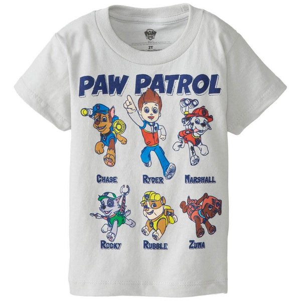 Paw Patrol - Character Line Up Toddler T-Shirt
