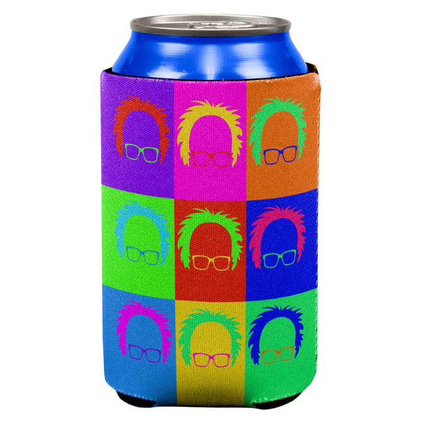 Election Bernie Sanders Minimalist Pop Art All Over Can Cooler