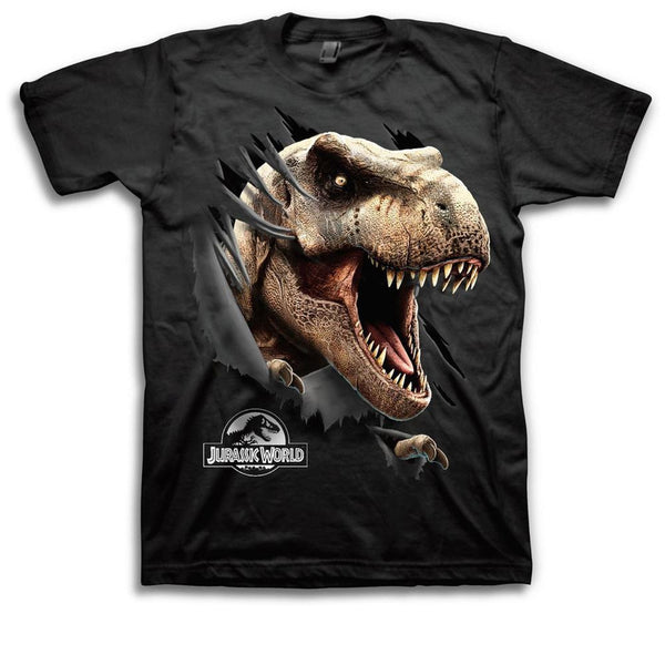 Jurassic World - Ripping Through Shirt Youth T-Shirt