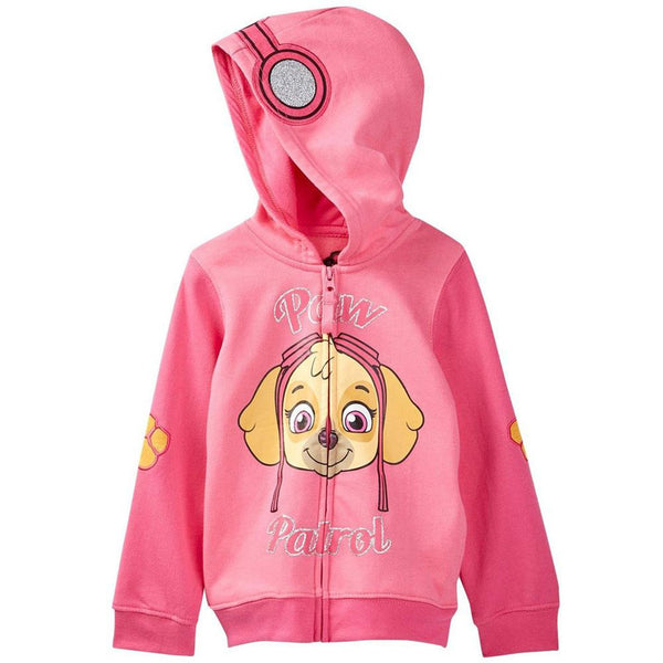 Paw Patrol - Skye Head Girls Toddler Zip Hoodie