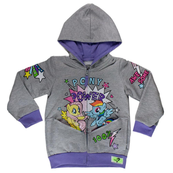 My Little Pony - Pony Power Girls Toddler Zip Hoodie