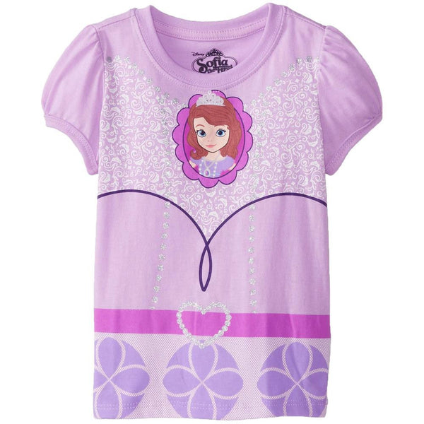 Sofia the First - Dress Girls Toddler Costume T-Shirt