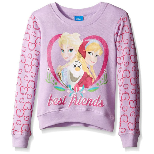 Frozen - Best Friends Girls Juvy Sweatshirt