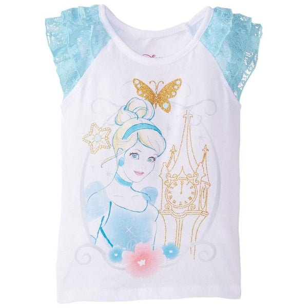 Cinderella - Castle Sketch Girls Juvy T-Shirt