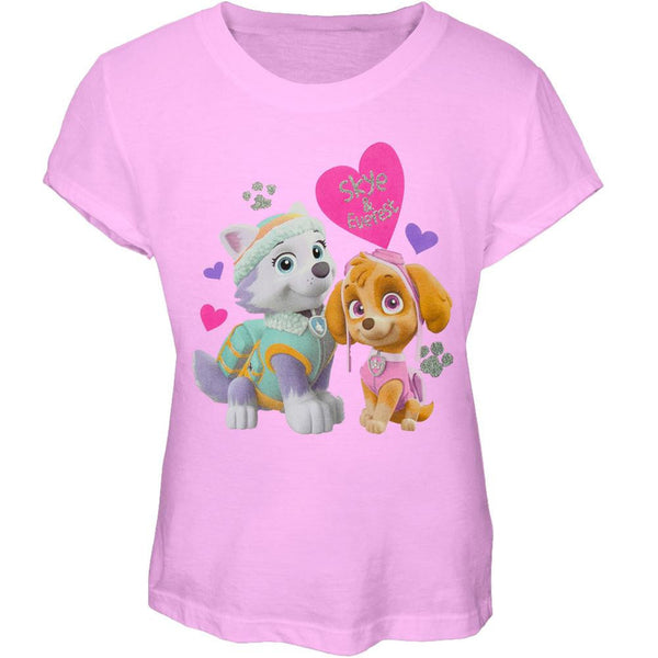 Paw Patrol - Skye and Everest Sitting Girls Juvy T-Shirt