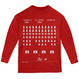 Classic Arcade Game Ugly XMAS Sweater Forest Youth Long Sleeve T-Shirt
